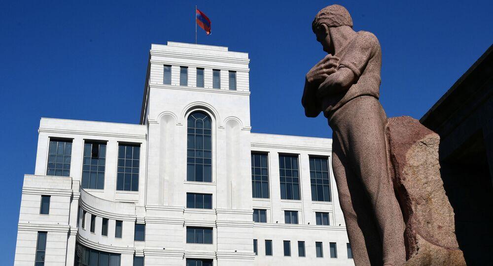 Gmach MSZ Armenii w Erywaniu.