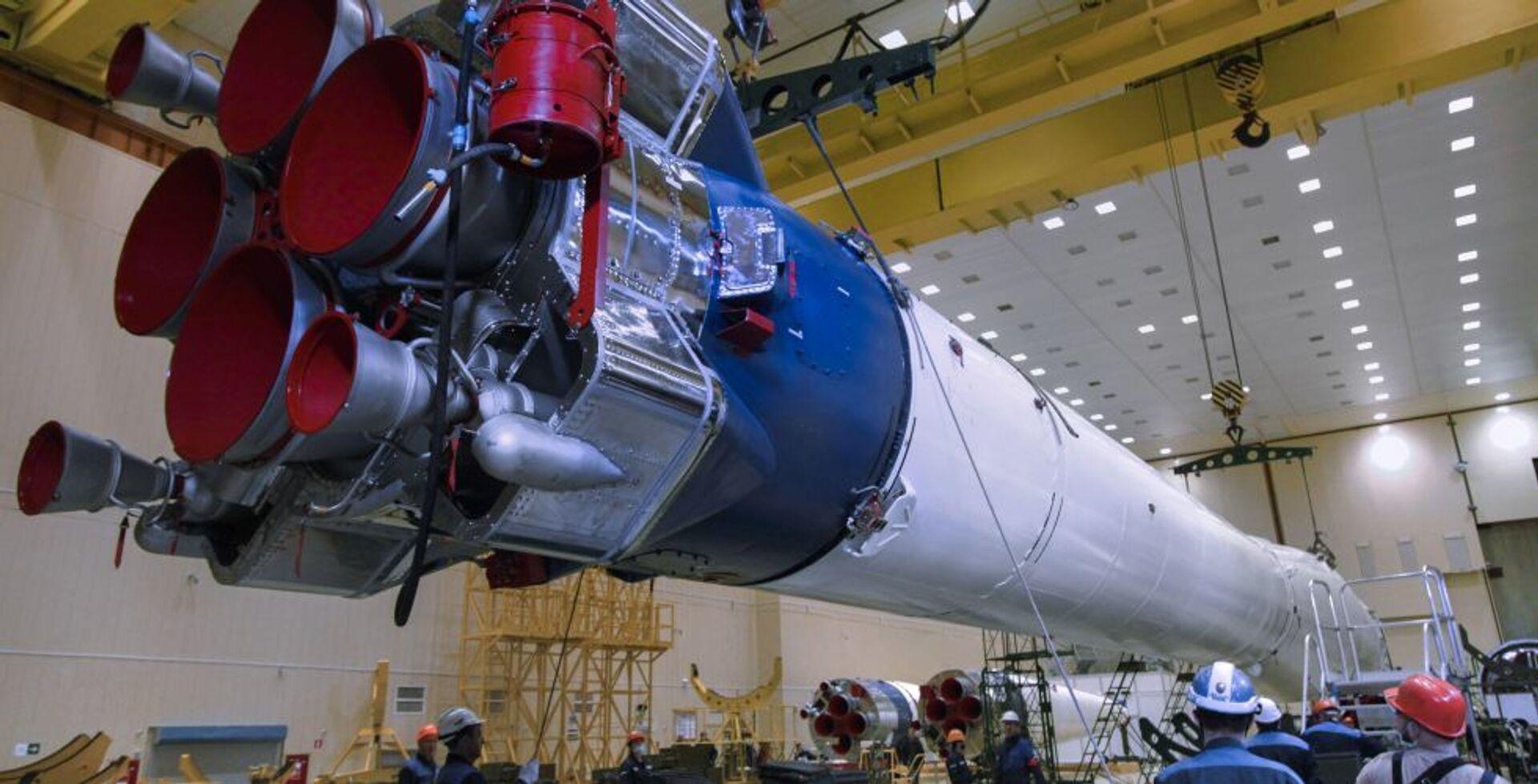Roskosmos pokazał nową odsłonę rakiety Sojuz - Sputnik Polska, 1920, 13.03.2021