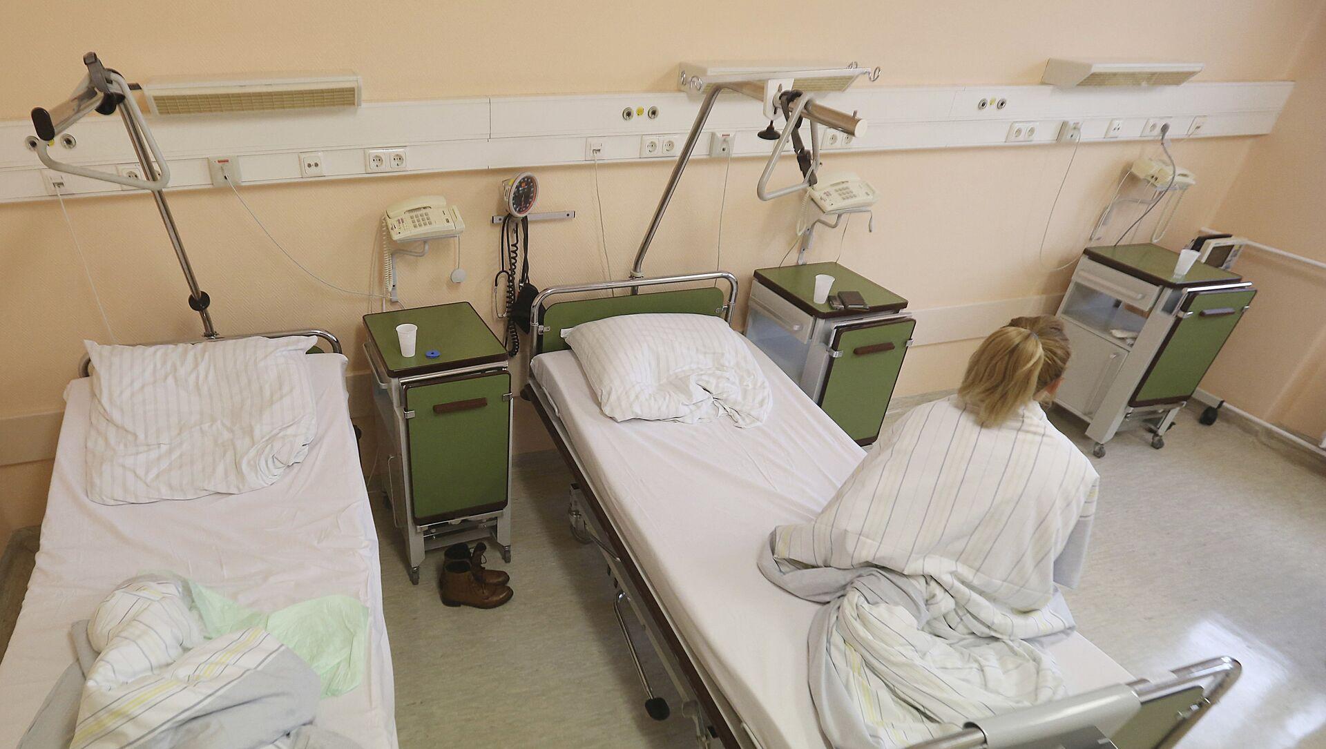 Kobieta w szpitalu w Prenzlau, Niemcy - Sputnik Polska, 1920, 13.03.2021