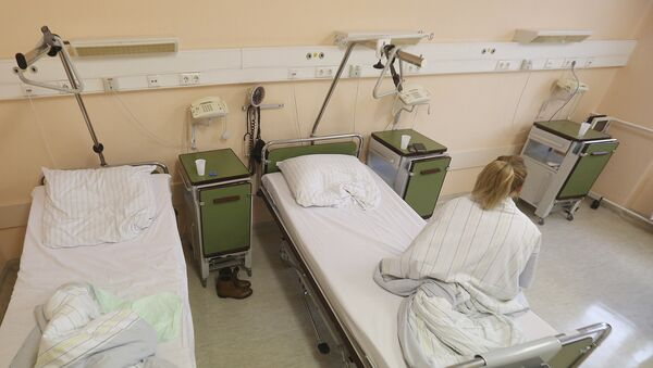 Kobieta w szpitalu w Prenzlau, Niemcy - Sputnik Polska