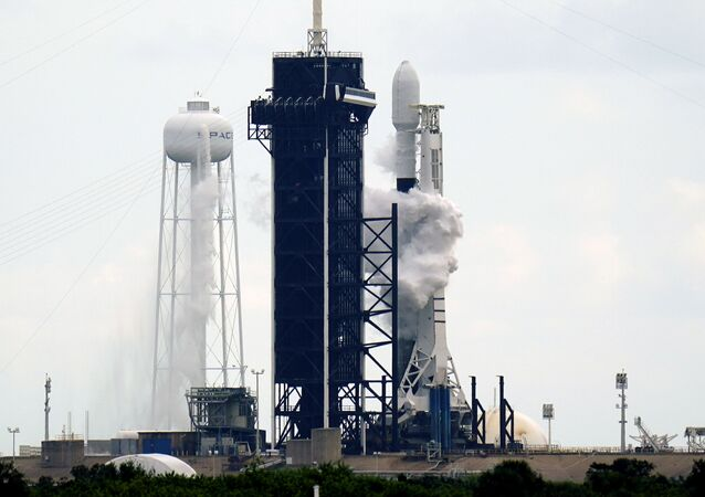 Start rakiety Falcon 9 z kosmodromu Cape Canaveral na Florydzie.