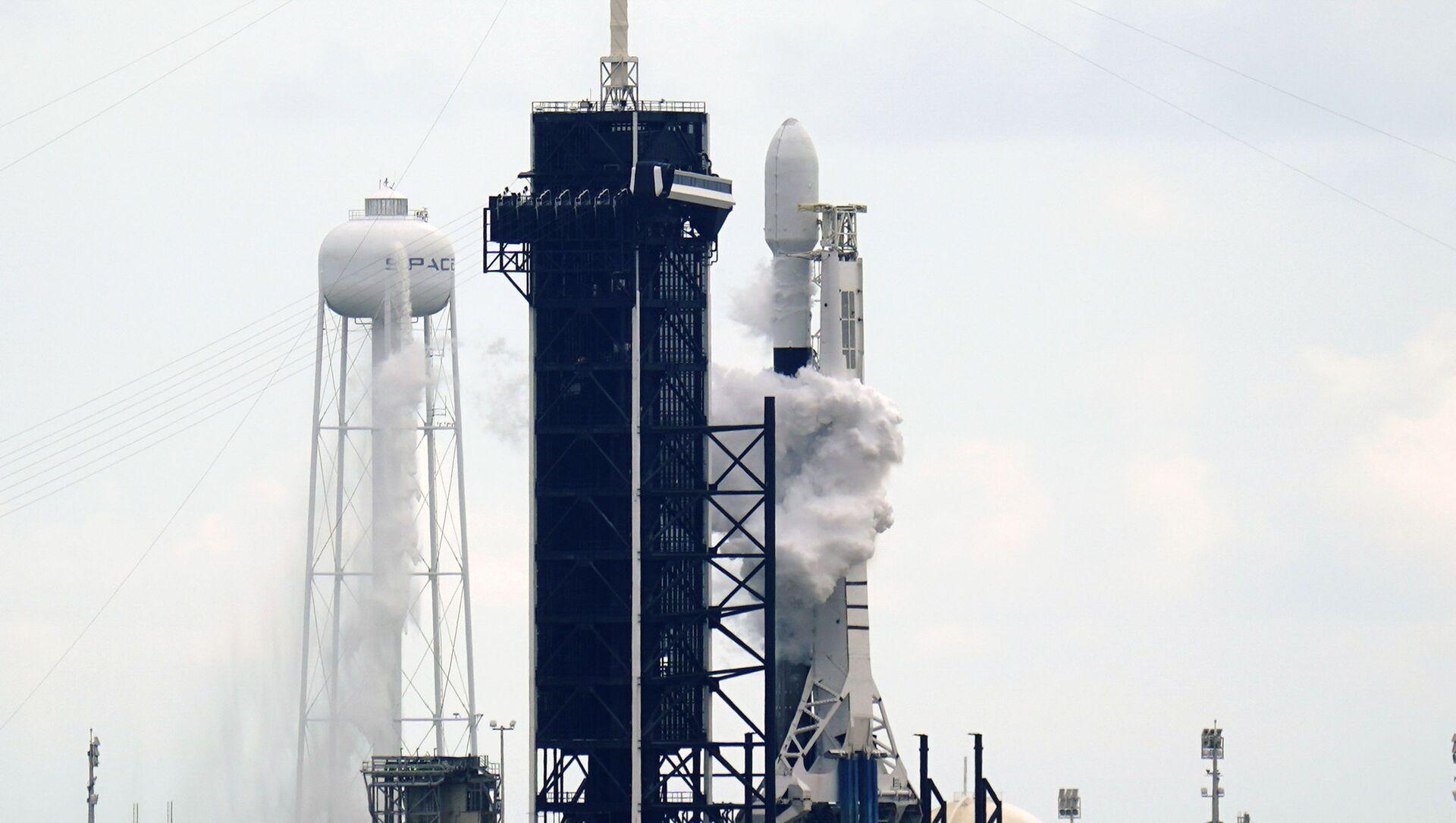 Start rakiety Falcon 9 z kosmodromu Cape Canaveral na Florydzie. - Sputnik Polska, 1920, 14.03.2021