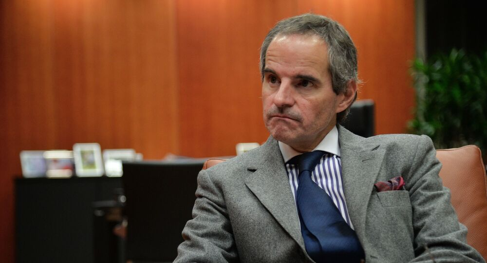 Dyrektor generalny MAEA Rafael Grossi.