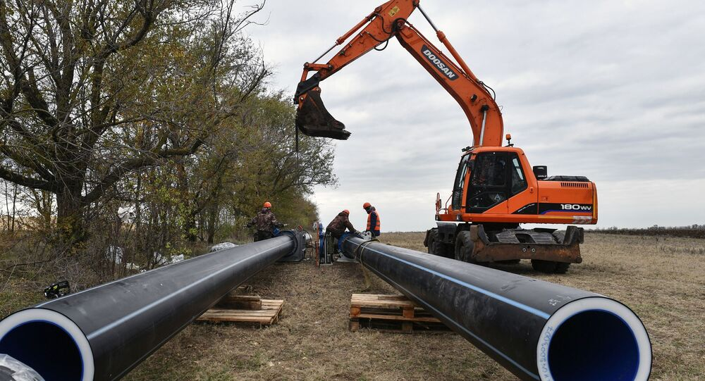 Na Krymie uruchomiono dwie studnie nowego wodociągu Beszterek-Zujskij, który będzie zaopatrywał w wodę Symferopol.