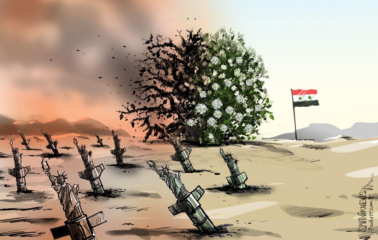 10 lat wojny w Syrii