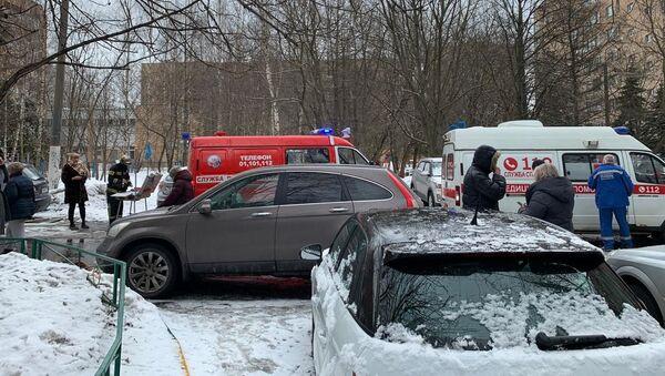 Wybuch w mieszkaniu w Chimkach 19 marca 2021 - Sputnik Polska
