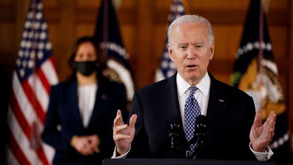 Prezydent Joe Biden - Sputnik Polska