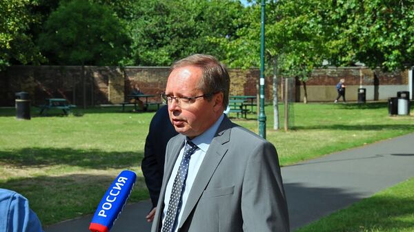 Ambasador Rosji w Wielkiej Brytanii Andriej Kielin - Sputnik Polska