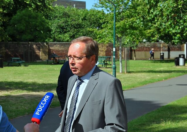 Ambasador Rosji w Wielkiej Brytanii Andriej Kelin.