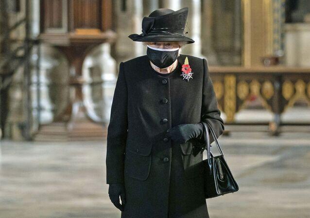 Królowa Wielkiej Brytanii Elżbieta II.