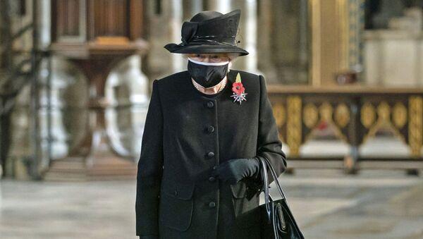 Królowa Wielkiej Brytanii Elżbieta II. - Sputnik Polska