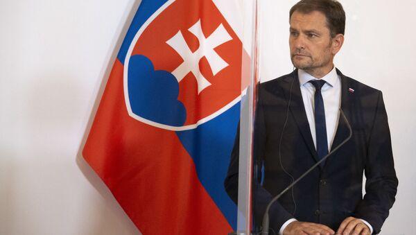 Słowacki premier Igor Matovič - Sputnik Polska