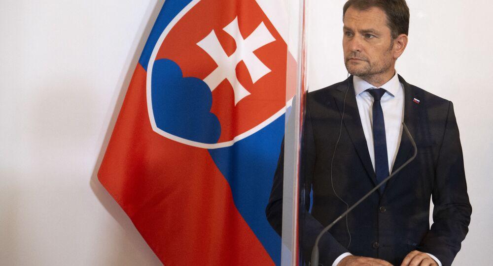 Słowacki premier Igor Matovič