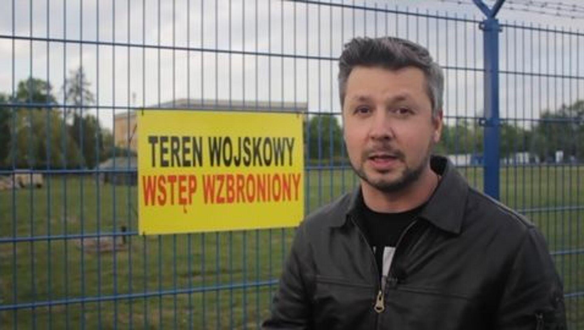 Jewgienij Reszetniow, dziennikarz ogólnorosyjskiej państwowej agencji telewizyjno-radiowej VGTRK - Sputnik Polska, 1920, 22.06.2021