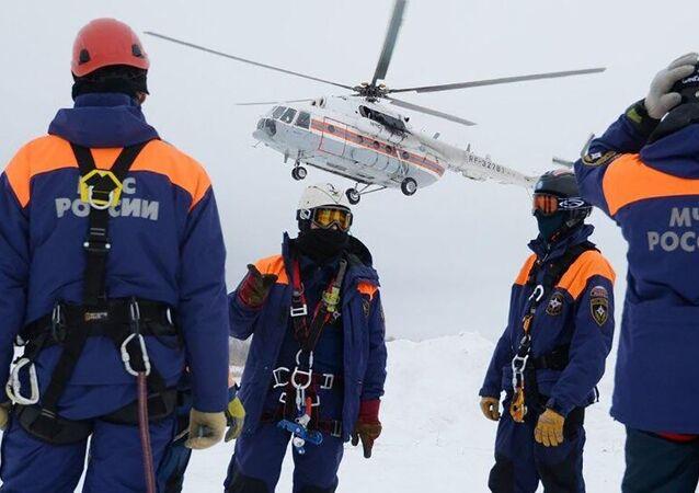 Służby ratownicze, Rosja