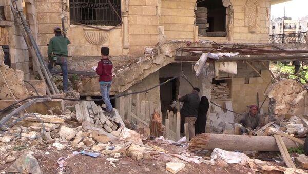 Syria Aleppo - Sputnik Polska