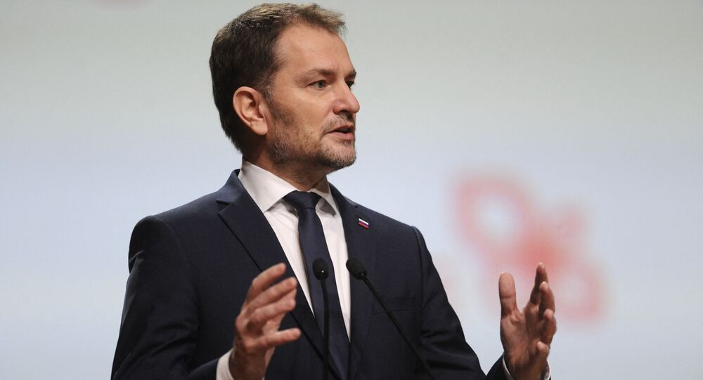 Premier Słowacji Igor Matovič