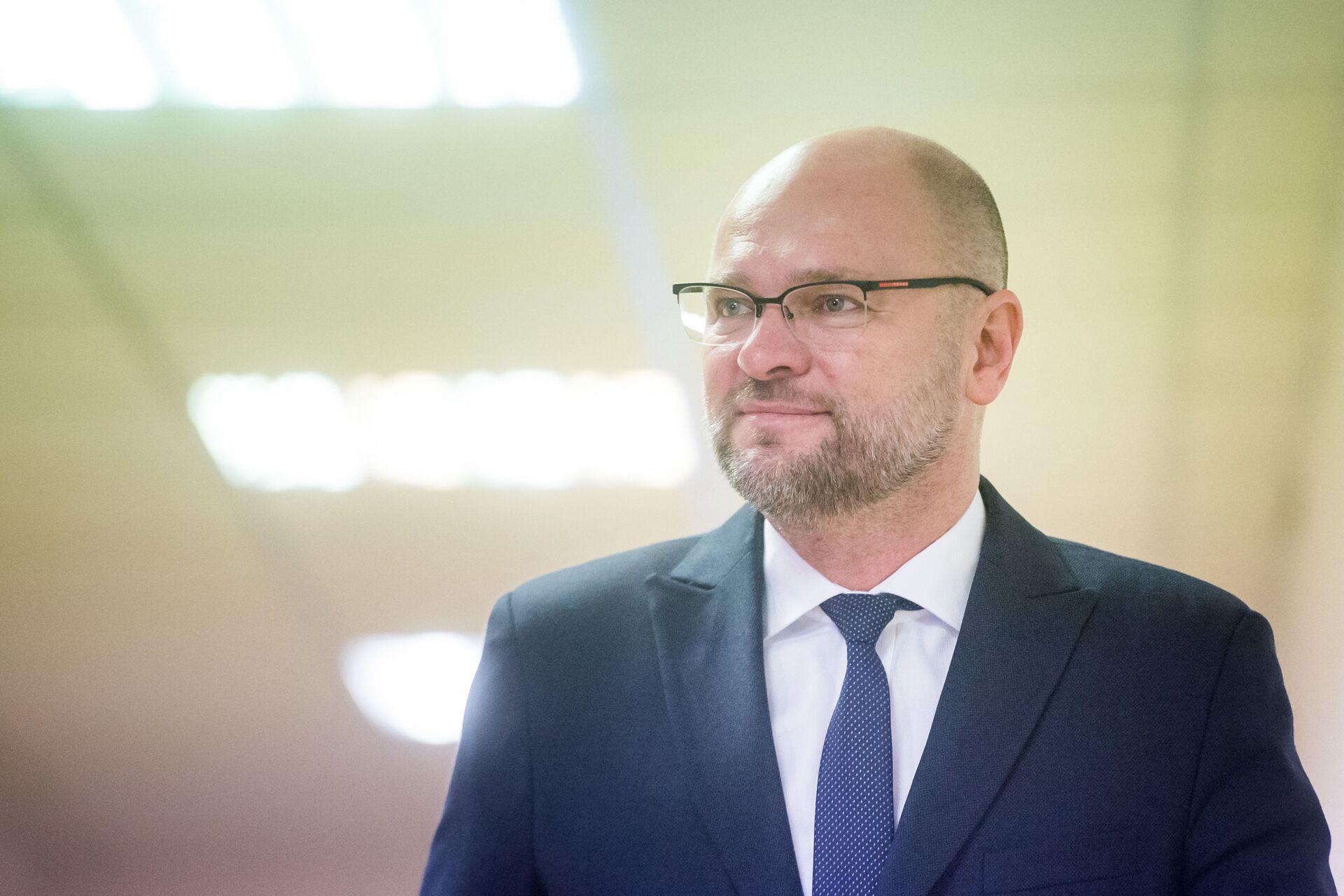 Wicepremier Słowacji podał się do dymisji: Teraz kolej na premiera Matoviča  - Sputnik Polska, 1920, 22.03.2021