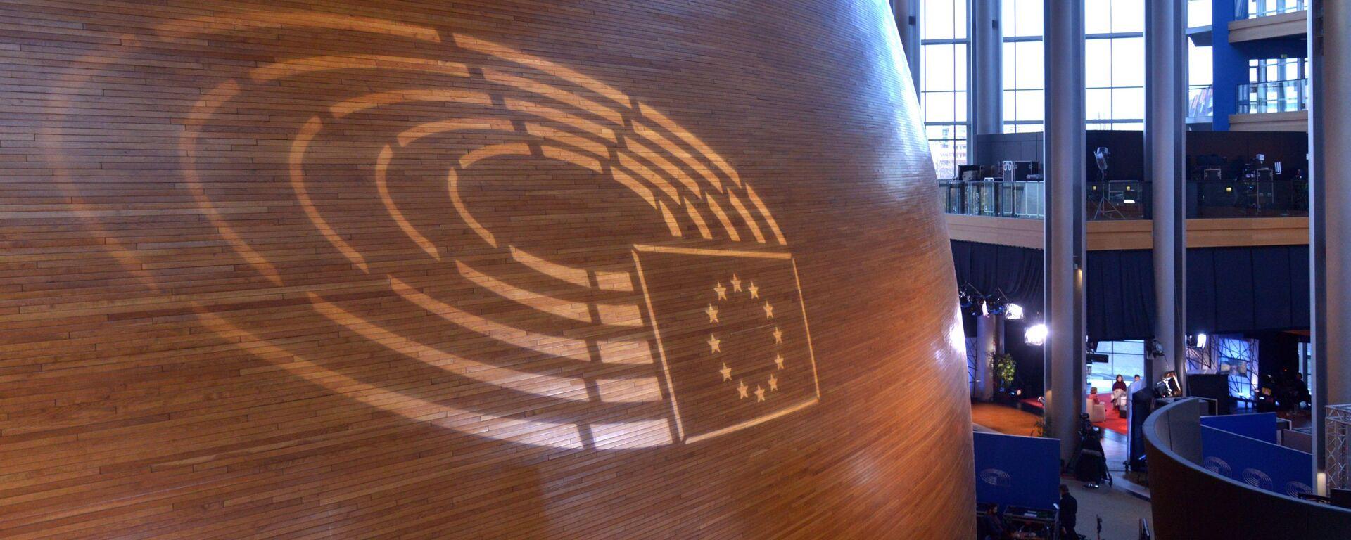 Sesja plenarna Parlamentu Europejskiego - Sputnik Polska, 1920, 23.03.2021