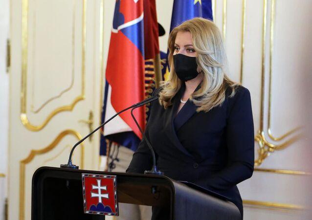 Prezydent Słowacji Zuzana Čaputová