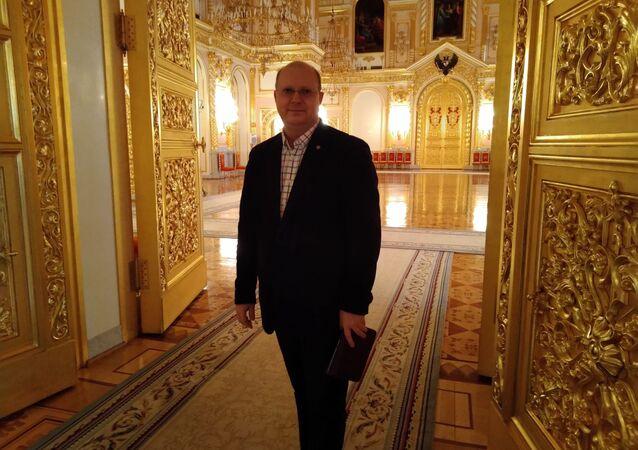 Komentator MIA Rossiya Siegodnya Leonid Swiridow