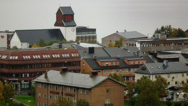 Norweskie miasto Kirkenes - Sputnik Polska