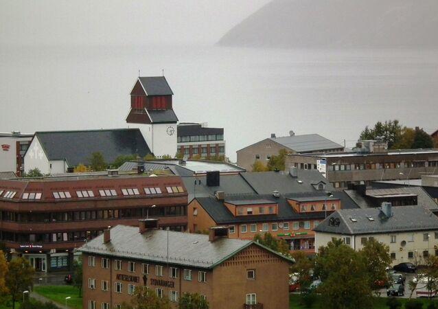 Norweskie miasto Kirkenes