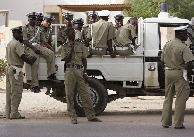 Funkcjonariusze policji Mauretanii