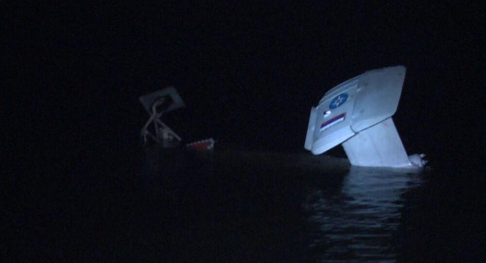 Helikopter wpadł do akwenu Zalewu Kurońskiego w obwodzie kaliningradzkim