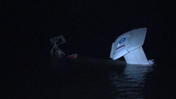 Helikopter wpadł do akwenu Zalewu Kurońskiego w obwodzie kaliningradzkim - Sputnik Polska