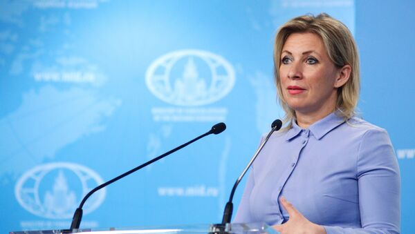 Rzeczniczka Ministerstwa Spraw Zagranicznych Rosji Maria Zacharowa - Sputnik Polska