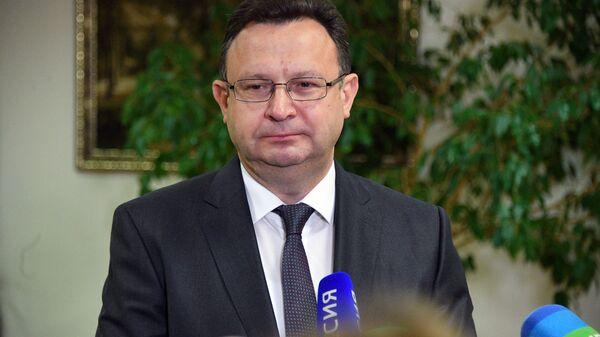 Szef Ministerstwa Zdrowia Białorusi Dmitrij Pinewicz - Sputnik Polska