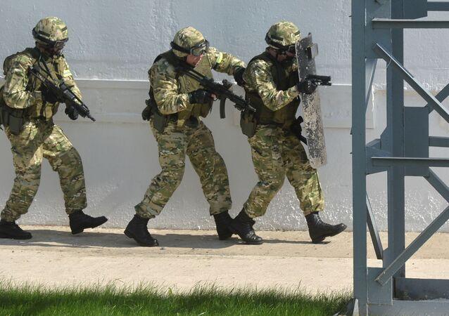 Białoruskie siły specjalne.