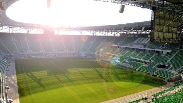 Stadion piłkarski we Wrocławiu. - Sputnik Polska