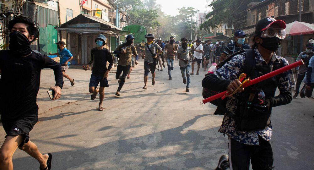 W sobotę birmańskie służby bezpieczeństwa zabiły 107 osób, w tym 7 dzieci.