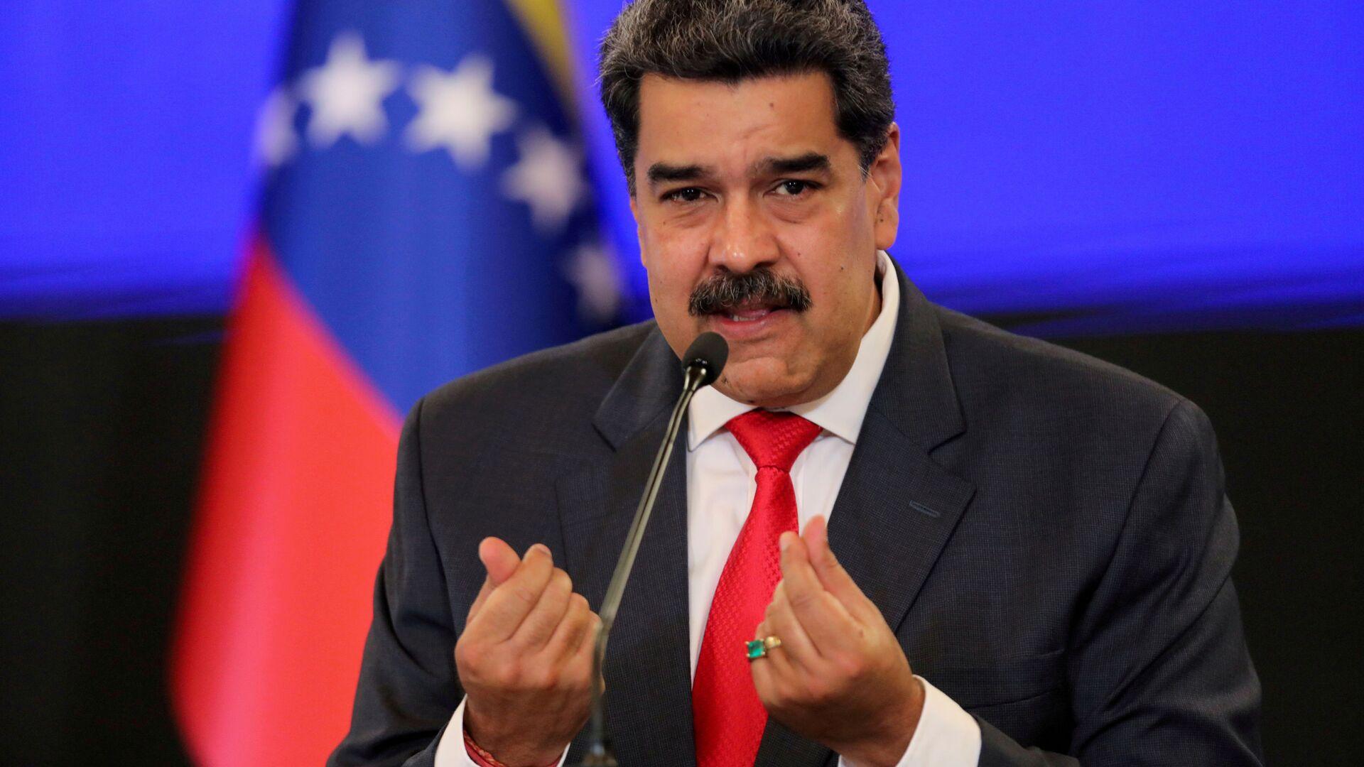 Prezydent Wenezueli Nicolas Maduro. - Sputnik Polska, 1920, 29.03.2021