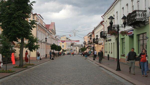 Grodno, Białoruś - Sputnik Polska