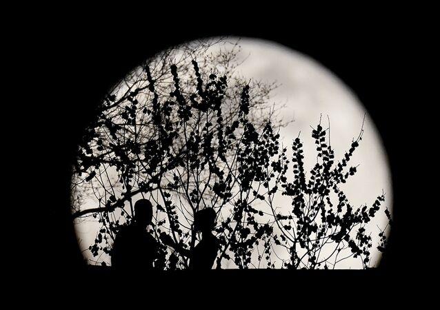 Pełnia Księżyca w marcu 2021 roku, USA