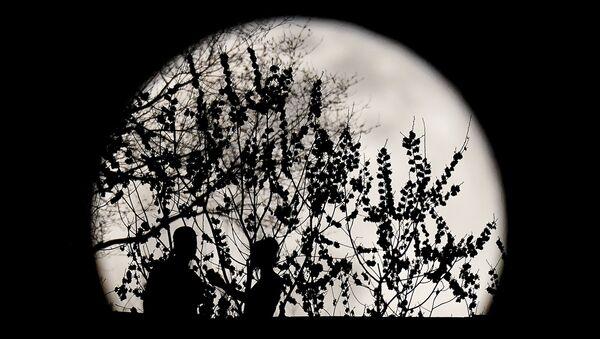 Pełnia Księżyca w marcu 2021 roku, USA - Sputnik Polska