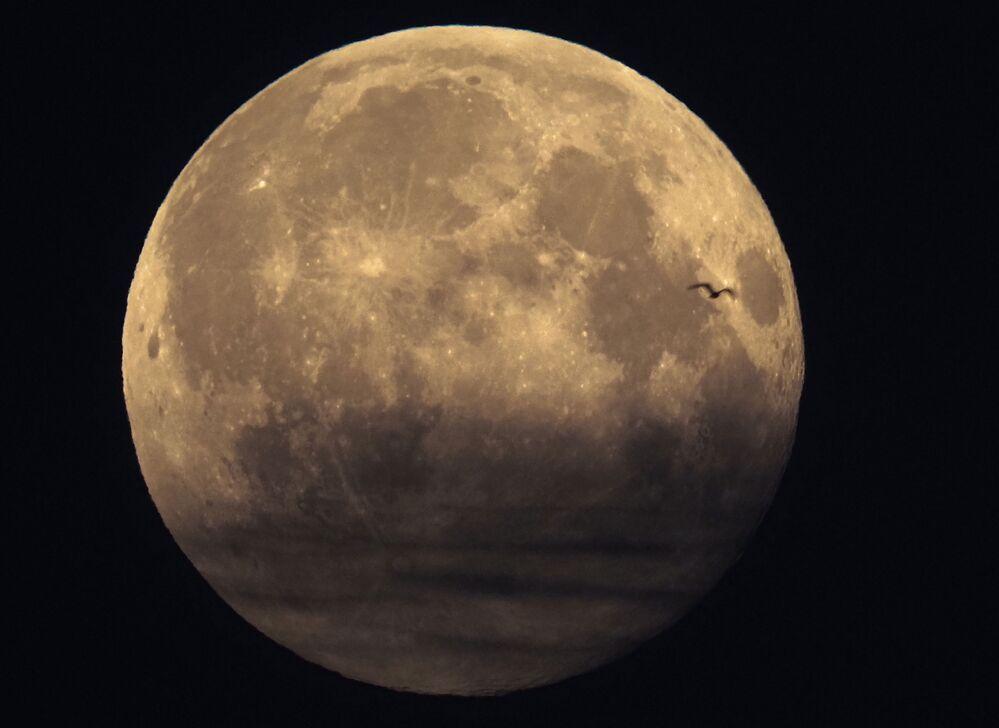Pełnia Księżyca w marcu 2021 roku, Petersburg