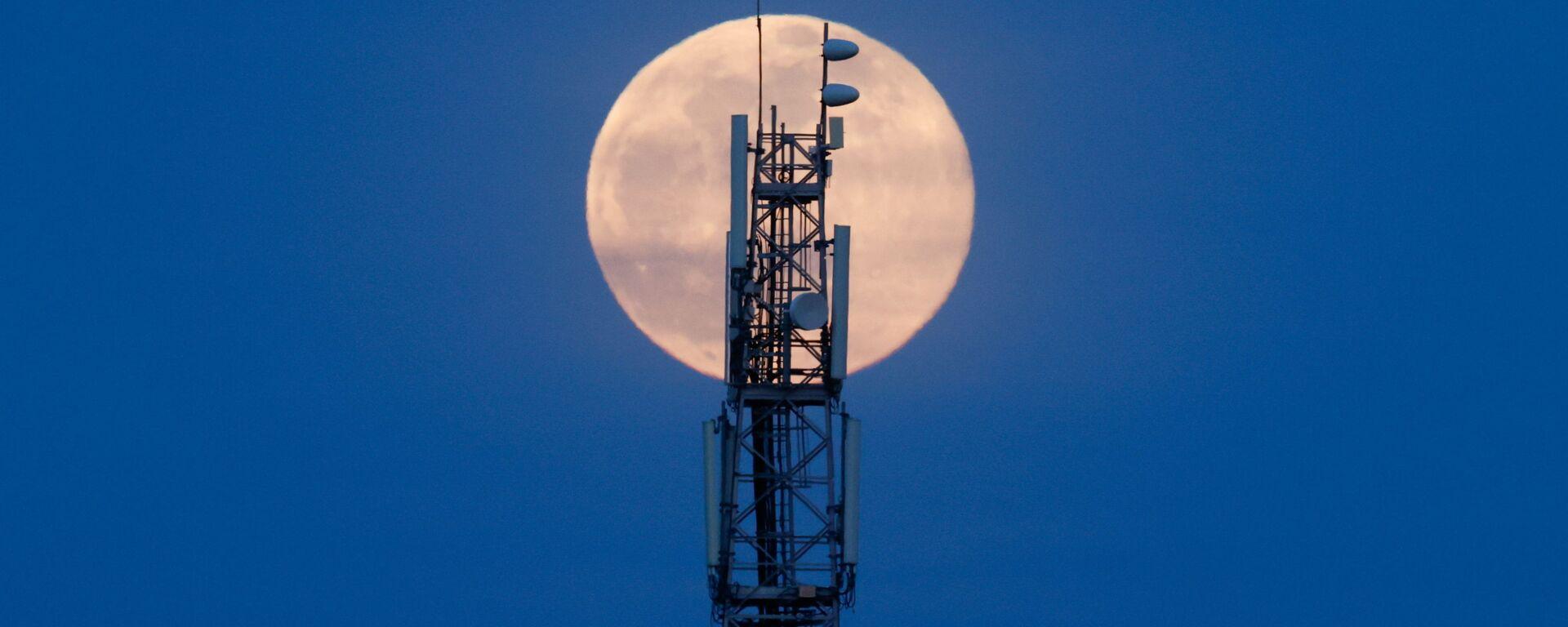 Pełnia Księżyca w marcu 2021 roku, Francja - Sputnik Polska, 1920, 30.06.2021