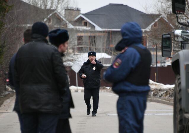 Akcja specnazu pod Moskwą