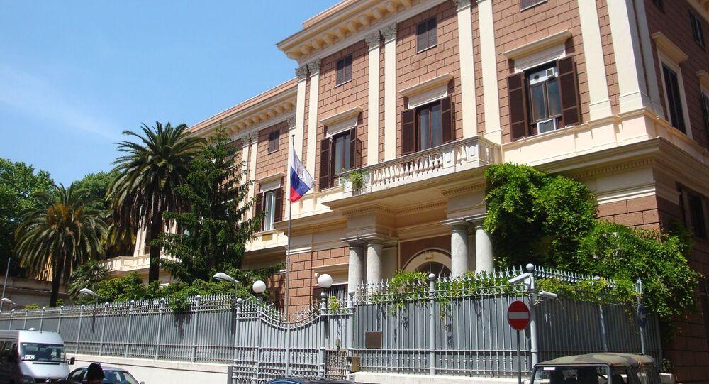 Budynek Ambasady Federacji Rosyjskiej we Włoszech