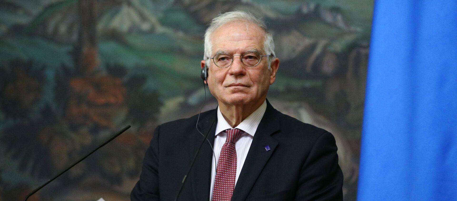 Wysoki przedstawiciel UE ds. zagranicznych i polityki bezpieczeństwa Josep Borrell - Sputnik Polska, 1920, 10.05.2021