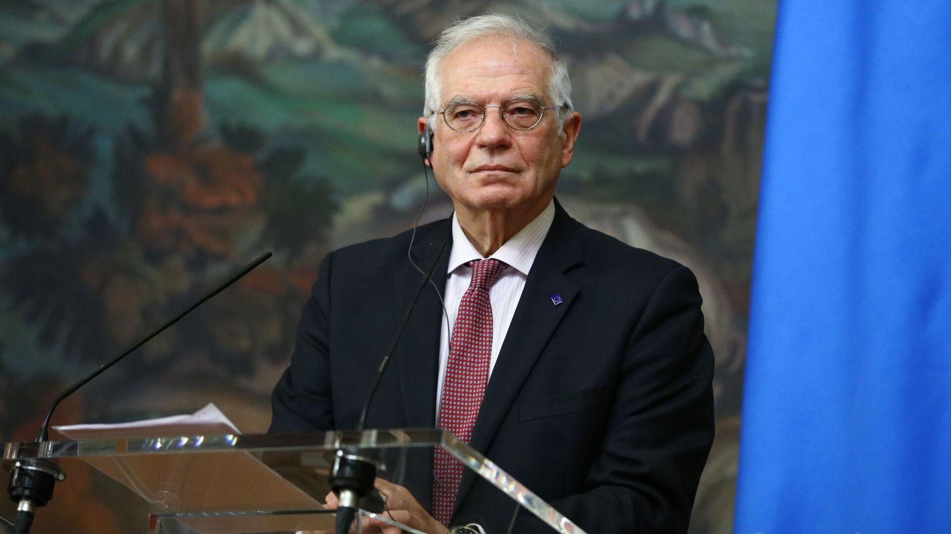 Wysoki przedstawiciel UE ds. zagranicznych i polityki bezpieczeństwa Josep Borrell - Sputnik Polska, 1920, 11.07.2021