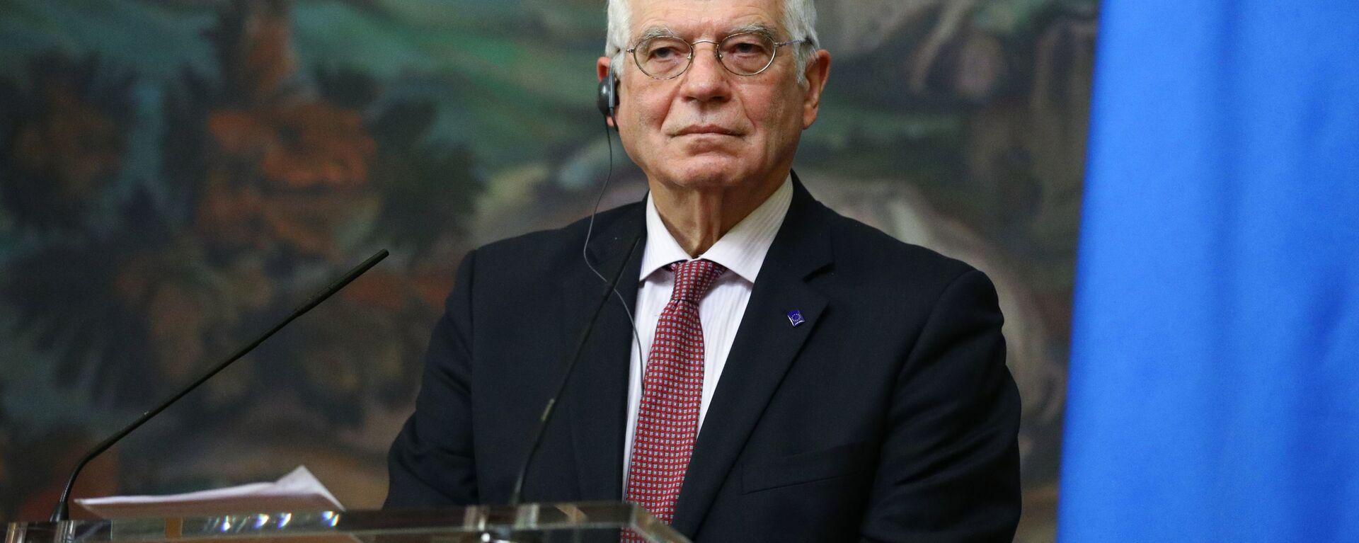 Wysoki przedstawiciel UE ds. zagranicznych i polityki bezpieczeństwa Josep Borrell - Sputnik Polska, 1920, 02.04.2021