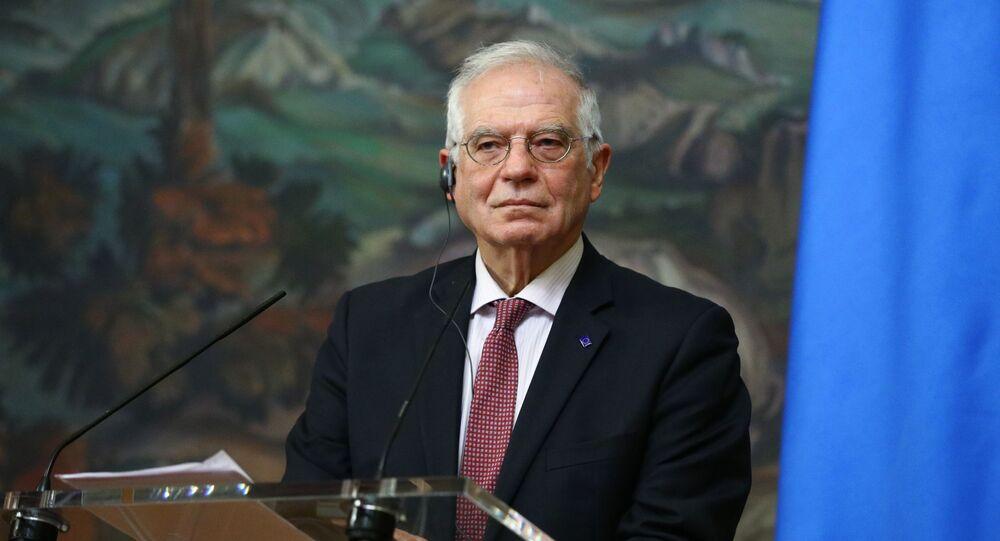 Wysoki przedstawiciel UE ds. zagranicznych i polityki bezpieczeństwa Josep Borrell