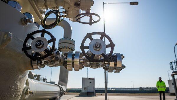 Budowa niemieckiego odcinka gazociągu Nord Stream 2. - Sputnik Polska
