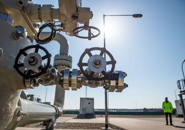 Budowa niemieckiego odcinka gazociągu Nord Stream 2.