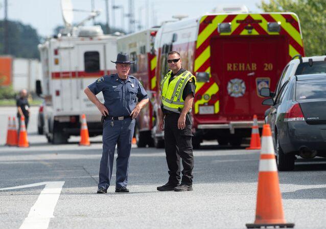 Policja stanu Maryland, USA